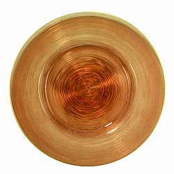 CAPPUCCINO PIATTO CIRCLE GRANDE D 32,5 H 1,5 CM LOS ANGELES