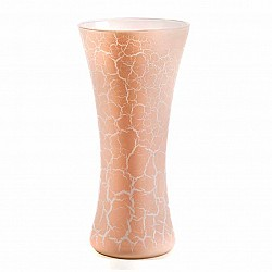 PESCA VASO PATTY D 18 H 37 WHITE CRACKLET