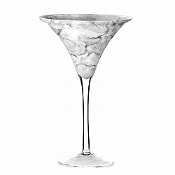 GRIGIO VASO MARTINI H 40 D. 25  WEDDING MARBLE