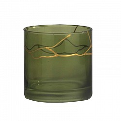 VERDE MILITARE CILINDRO D. 10 H. 10 CHRISTMAS SCRATCH